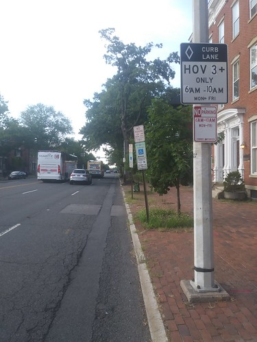 Alexandria has boosted its on-street HOV requirements to 3 persons per vehicle