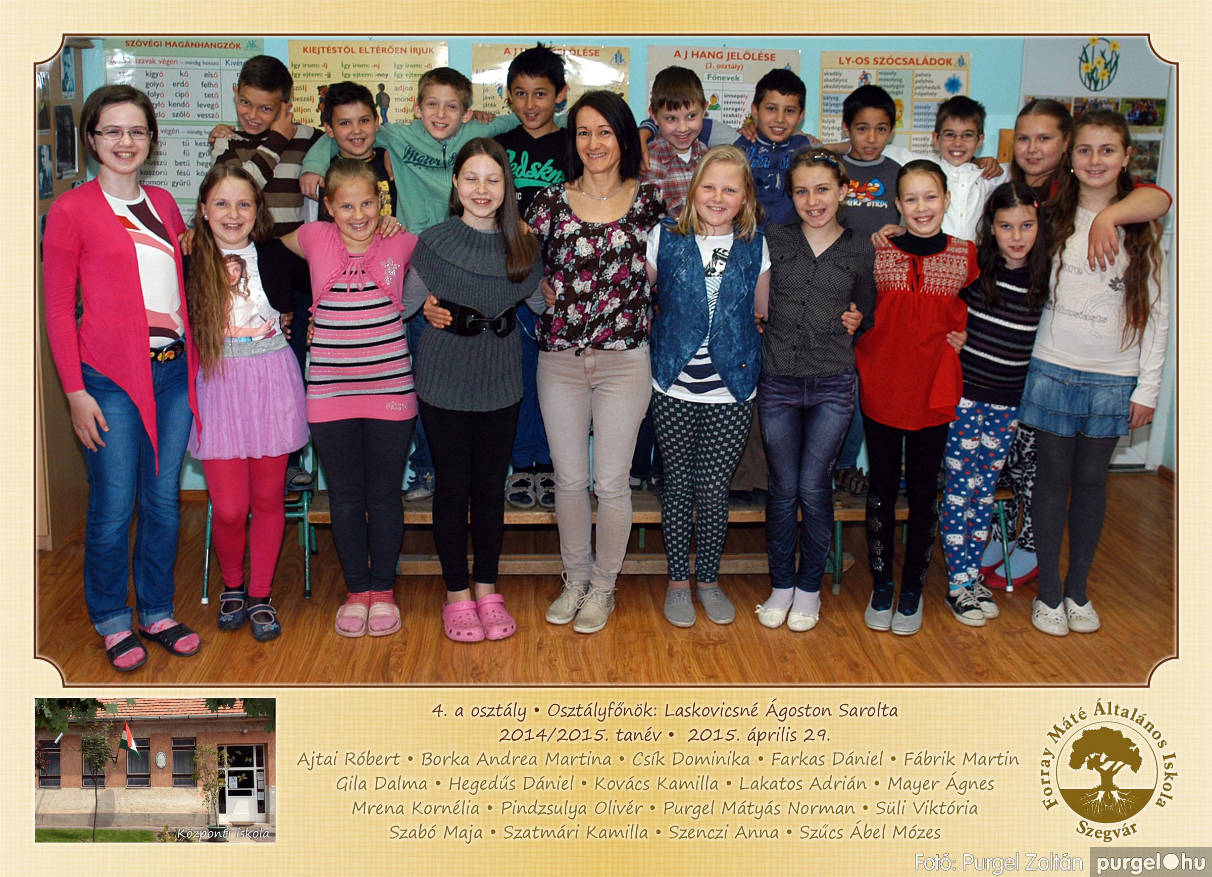 2015.04.28-05.13. 012 Forray Máté Általános Iskola osztályképek 2015. - Fotó:PURGEL ZOLTÁN© 4a-2.jpg