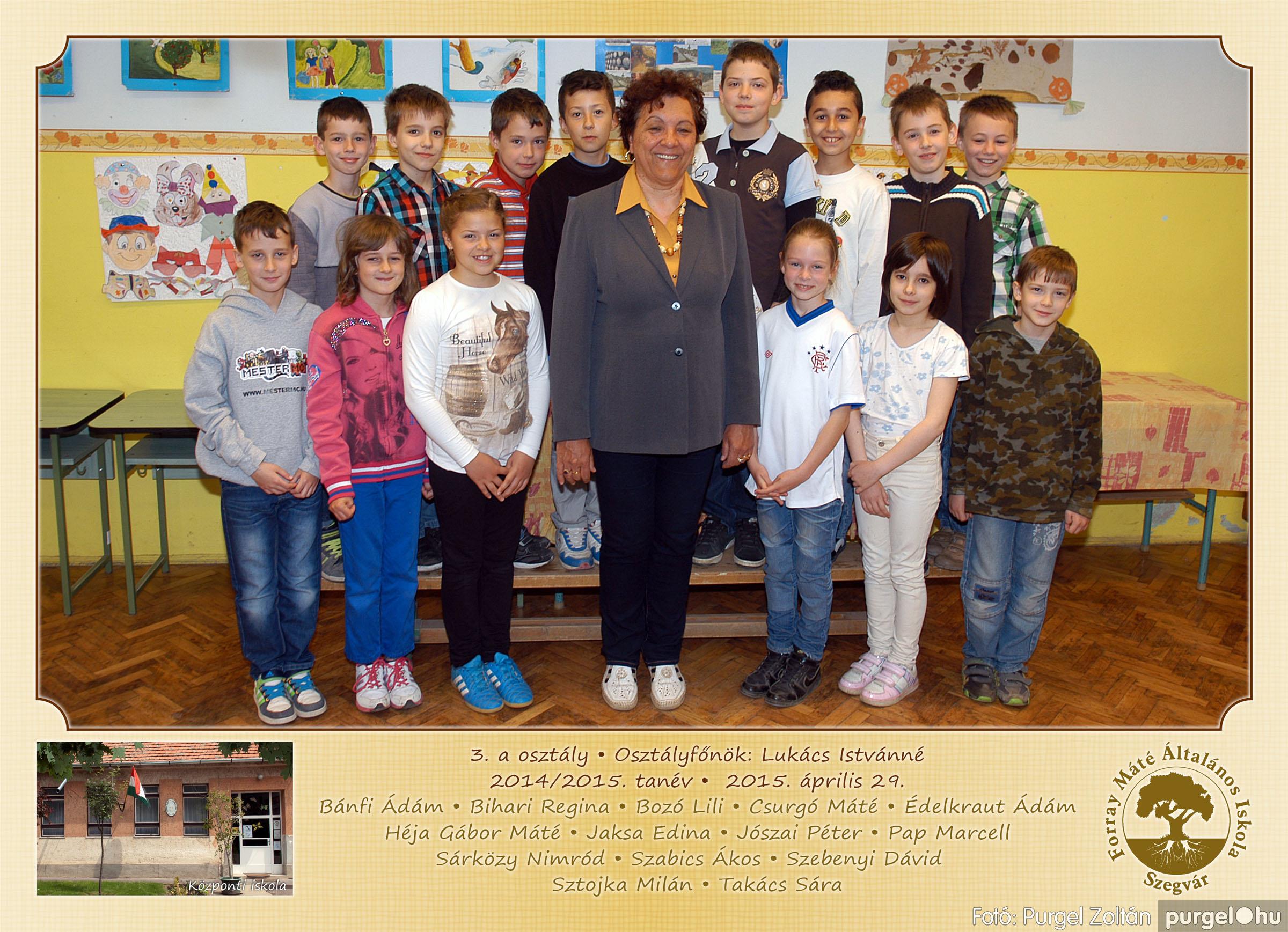 2015.04.28-05.13. 009 Forray Máté Általános Iskola osztályképek 2015. - Fotó:PURGEL ZOLTÁN© 3a-1.jpg