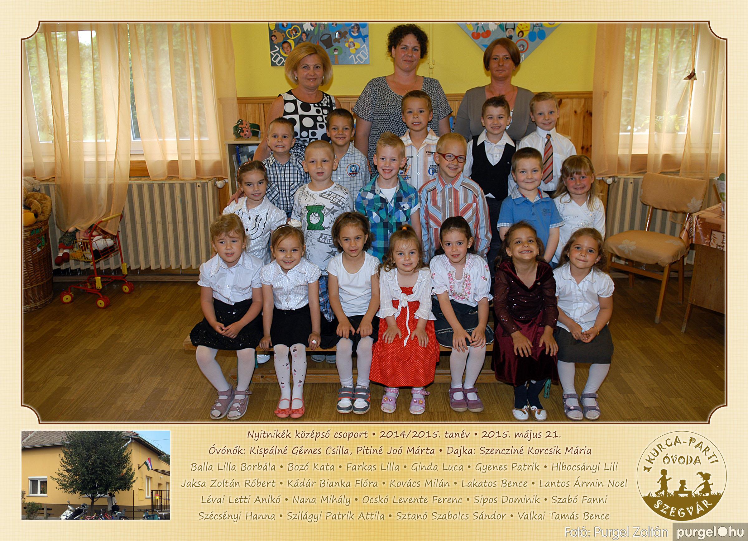 2015.05.15-30. 018 Kurca-parti Óvoda csoportképek 2015. - Fotó:PURGEL ZOLTÁN© NyitnikékCsoport3.jpg