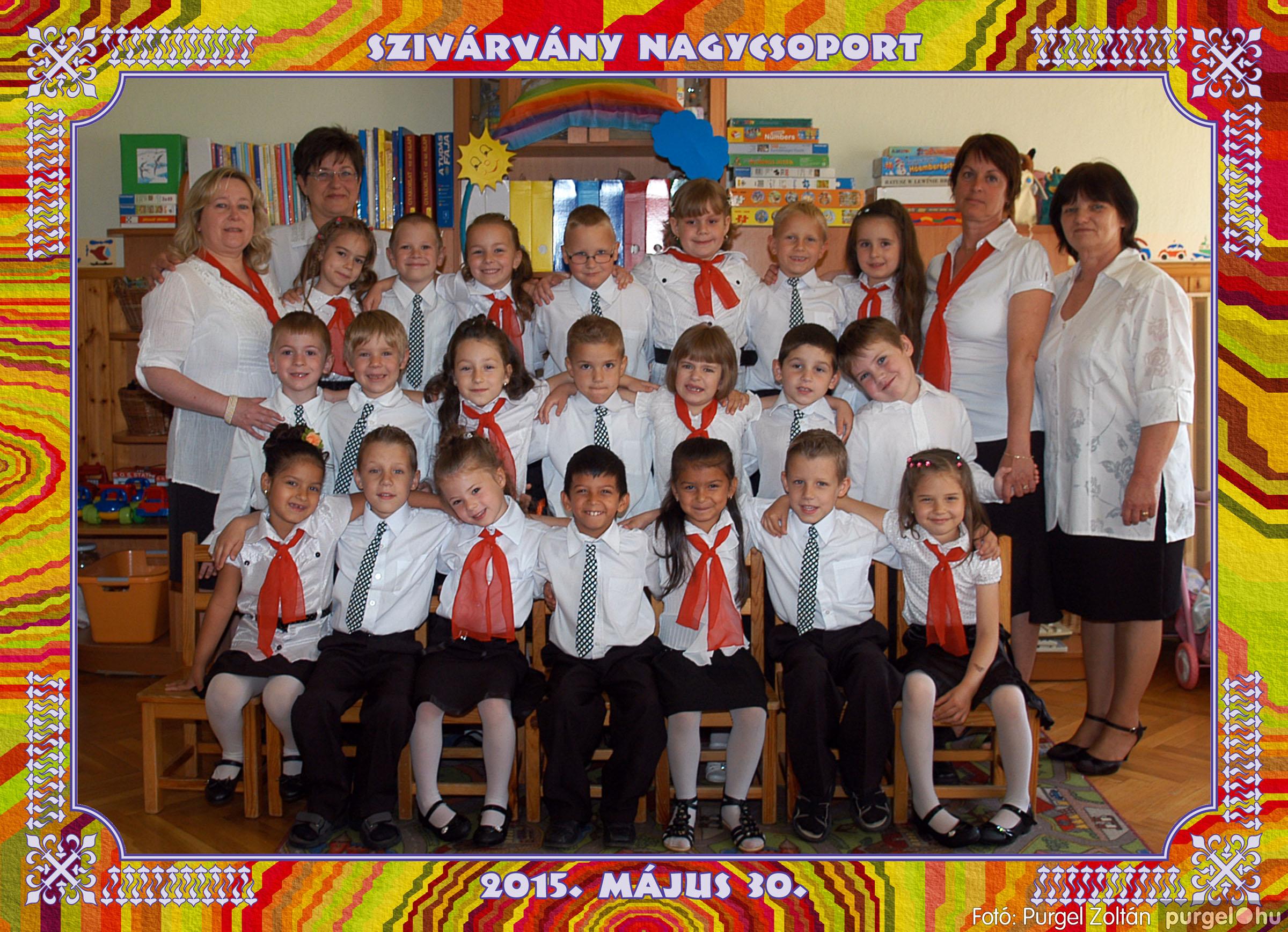 2015.05.15-30. 021 Kurca-parti Óvoda csoportképek 2015. - Fotó:PURGEL ZOLTÁN© Szivárvány2.jpg