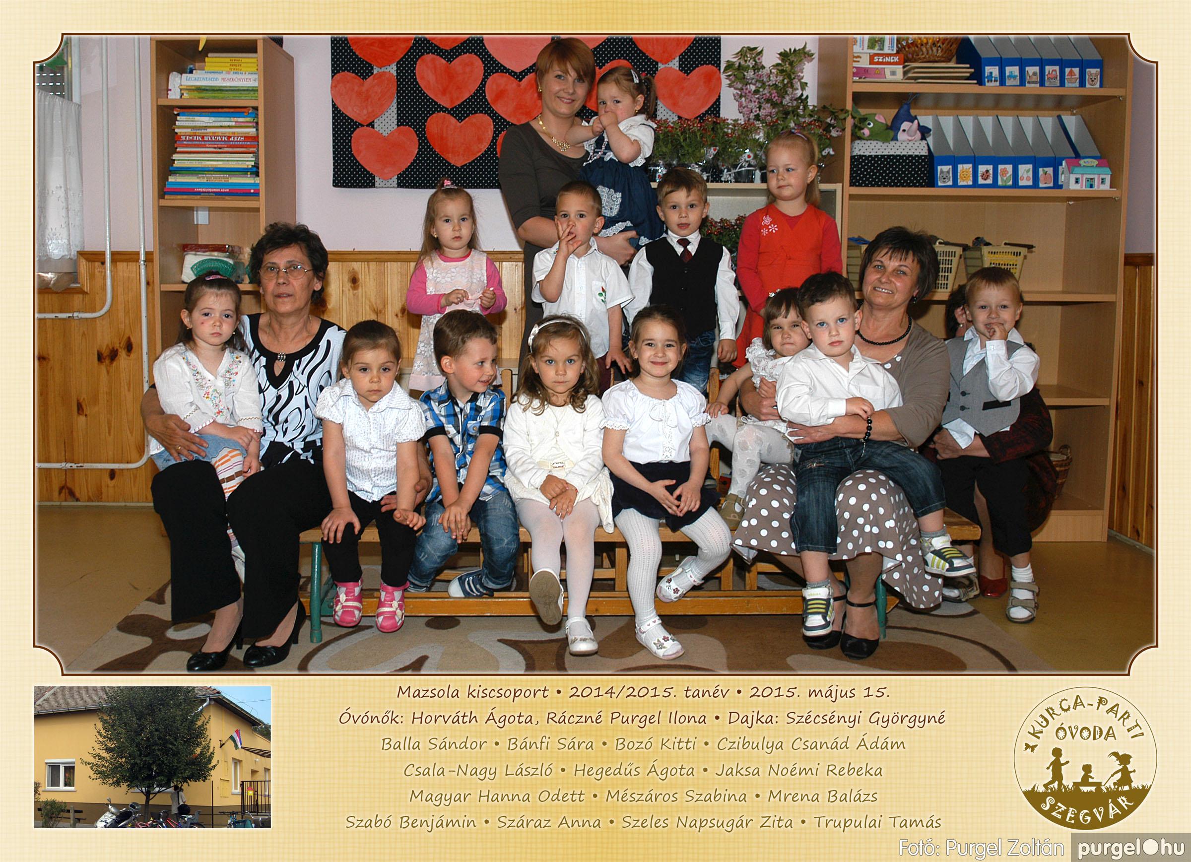 2015.05.15-30. 014 Kurca-parti Óvoda csoportképek 2015. - Fotó:PURGEL ZOLTÁN© MazsolaCsoportkép3.jpg