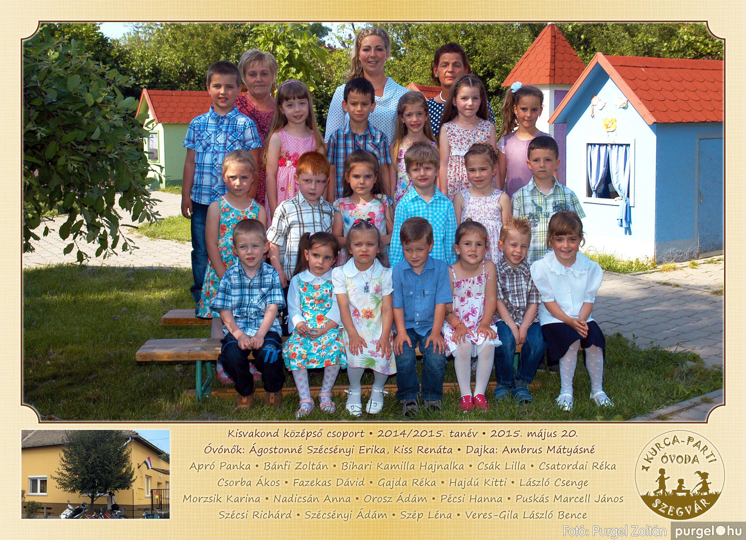 2015.05.15-30. 010 Kurca-parti Óvoda csoportképek 2015. - Fotó:PURGEL ZOLTÁN© KisvakondCsoport3.jpg