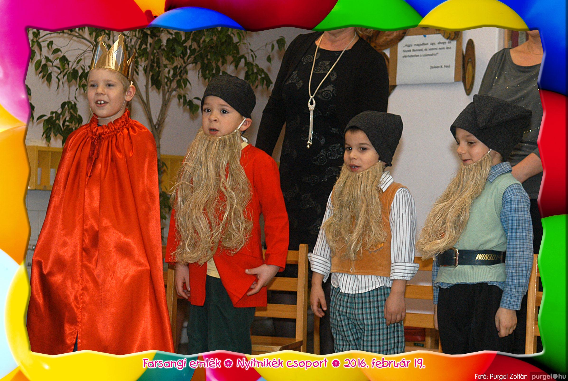 2016.02.19. 230 Kurca-parti Óvoda farsang 2016. - Nyitnikék csoport - Fotó:PURGEL ZOLTÁN© 518.jpg