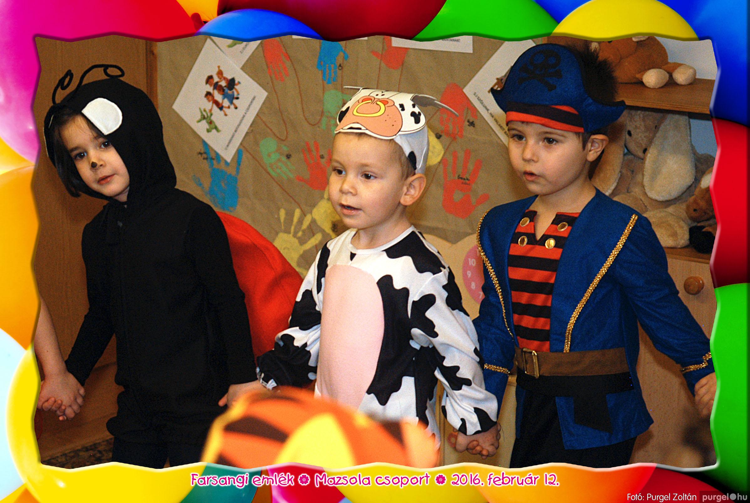 2016.02.12. 101 Kurca-parti Óvoda farsang 2016. - Mazsola csoport - Fotó:PURGEL ZOLTÁN© 422.jpg
