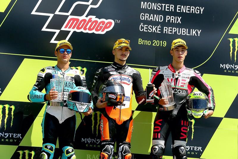 Moto3 podium