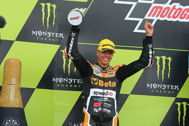 Moto2 podium