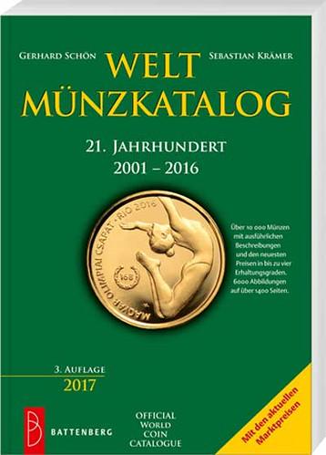 World coin catalog 2001-2016 book cover