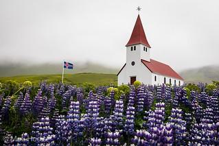 Church of Vik i Myrdal, Iceland
