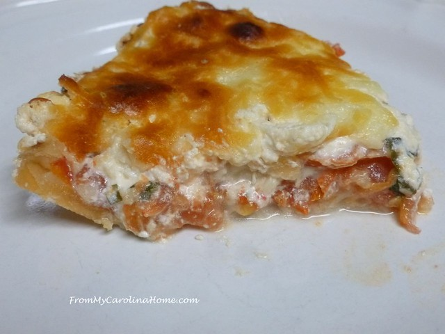 Tomato Pie at FromMyCarolinaHome.com