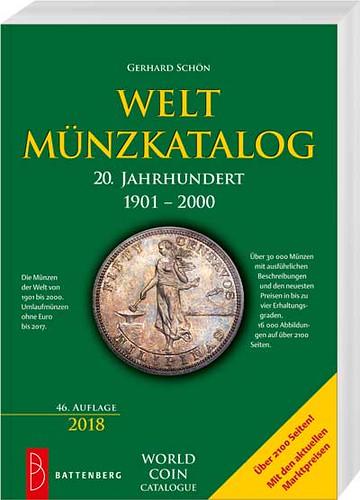 World coin catalog 1901-2000 book cover