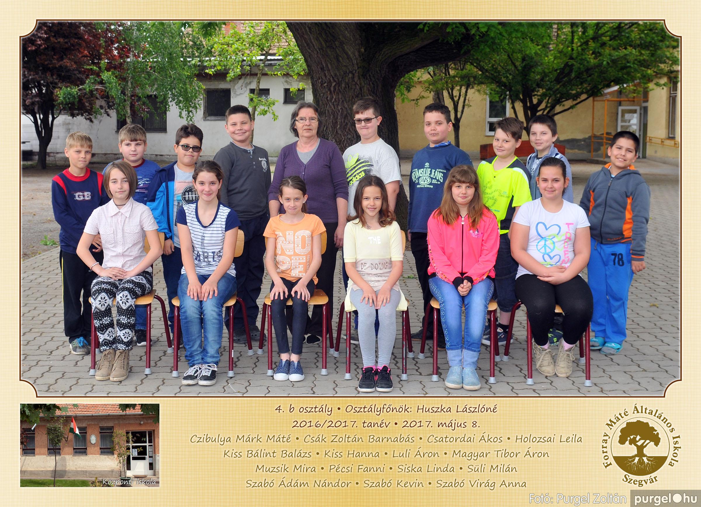 2017.05.08-09. 007 Forray Máté Általános Iskola osztályképek 2017. - Fotó:PURGEL ZOLTÁN© 4.b osztály.jpg