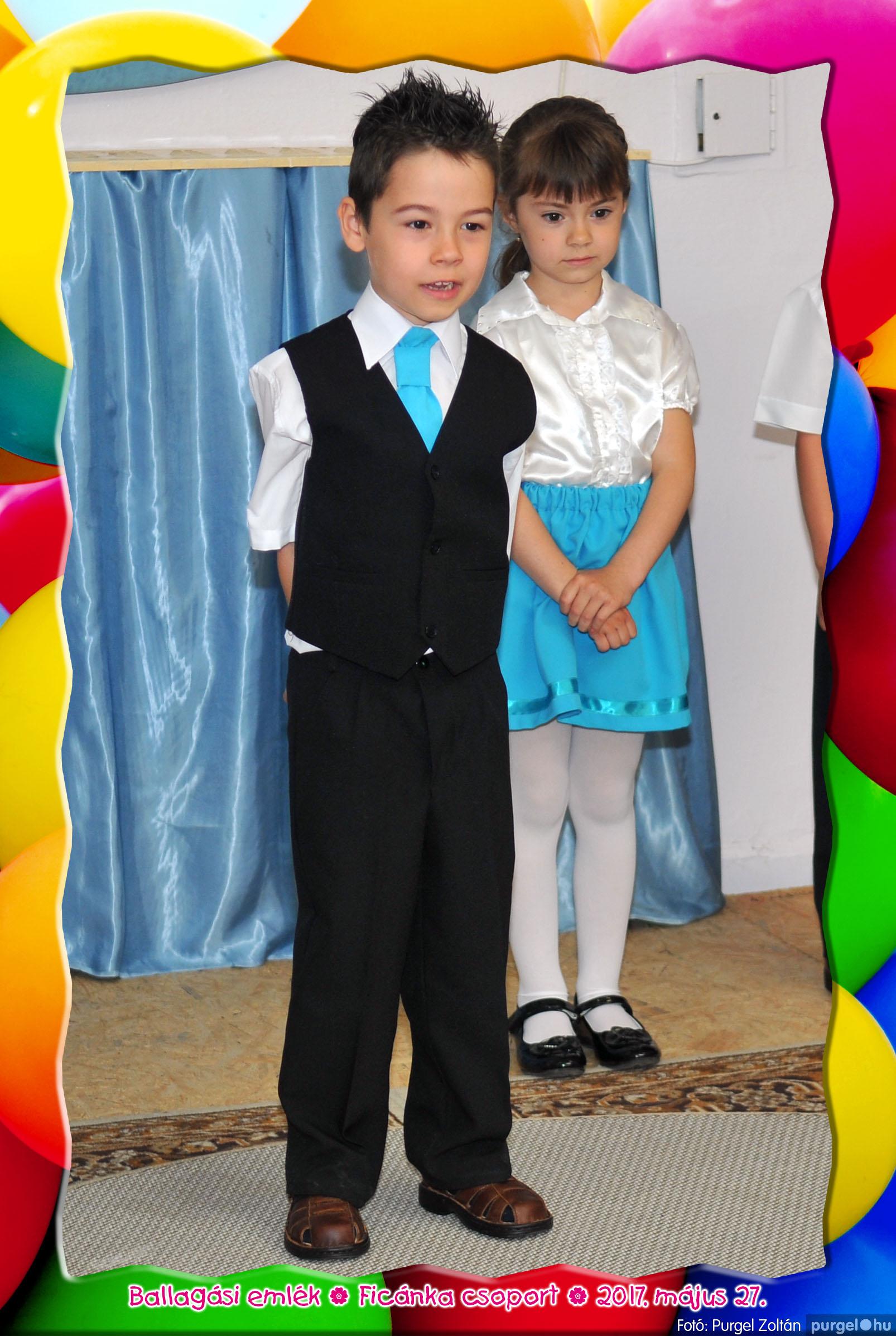 2017.05.27. 231 Kurca-parti Óvoda évzáró 2017. - Ficánka csoport - Fotó:PURGEL ZOLTÁN© 211