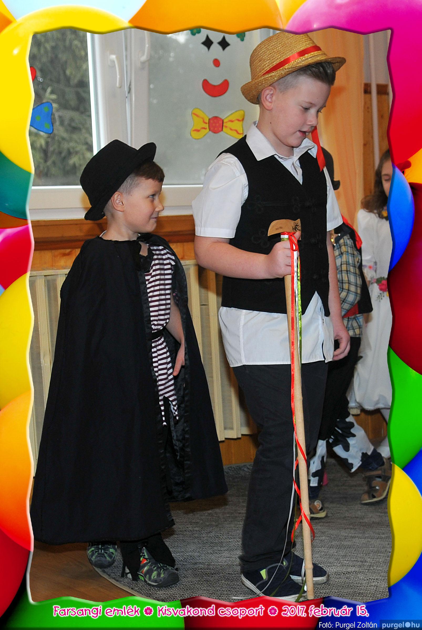 2017.02.15. 049 Kurca-parti Óvoda farsang 2017. - Kisvakond csoport - Fotó:PURGEL ZOLTÁN© 316.jpg