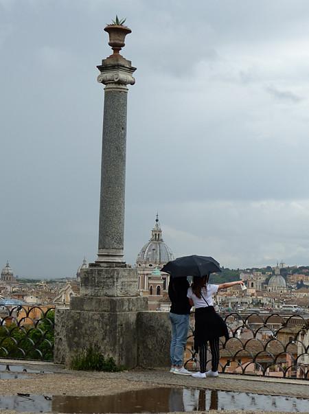 amoureux à Rome