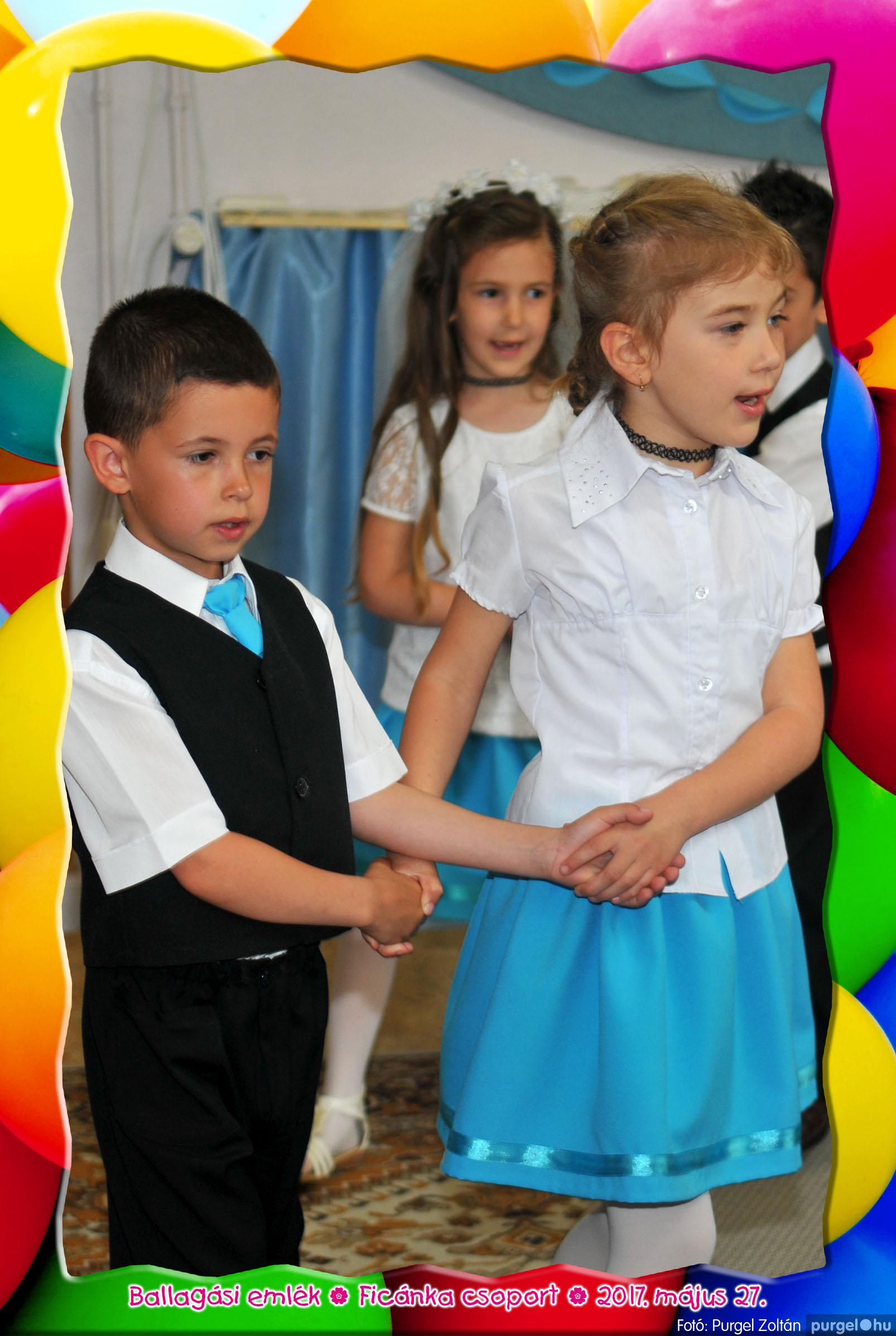2017.05.27. 259 Kurca-parti Óvoda évzáró 2017. - Ficánka csoport - Fotó:PURGEL ZOLTÁN© 239