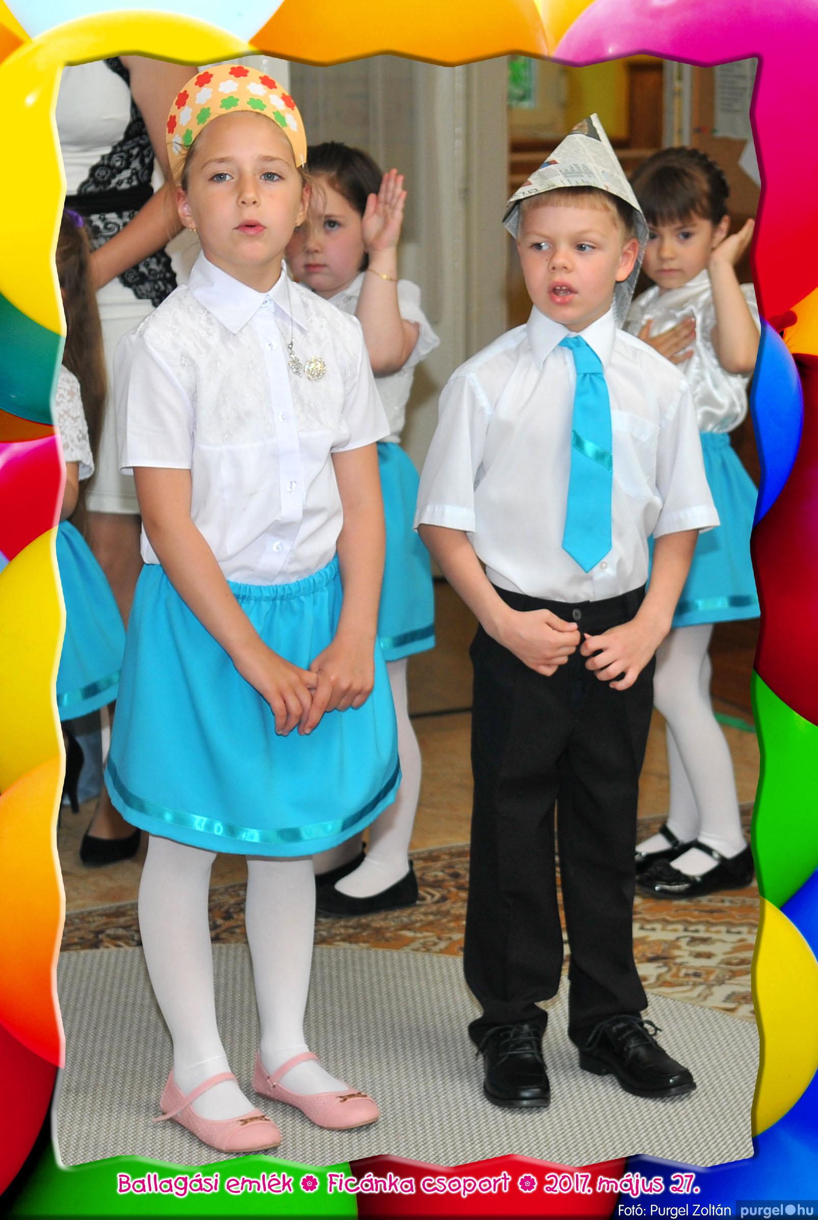 2017.05.27. 252 Kurca-parti Óvoda évzáró 2017. - Ficánka csoport - Fotó:PURGEL ZOLTÁN© 232