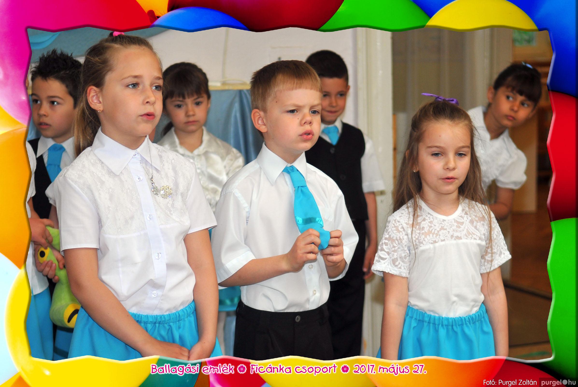 2017.05.27. 247 Kurca-parti Óvoda évzáró 2017. - Ficánka csoport - Fotó:PURGEL ZOLTÁN© 227
