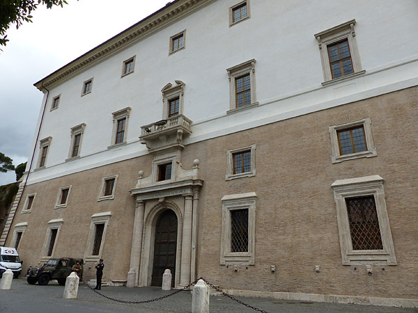 entrée Villa Medicis