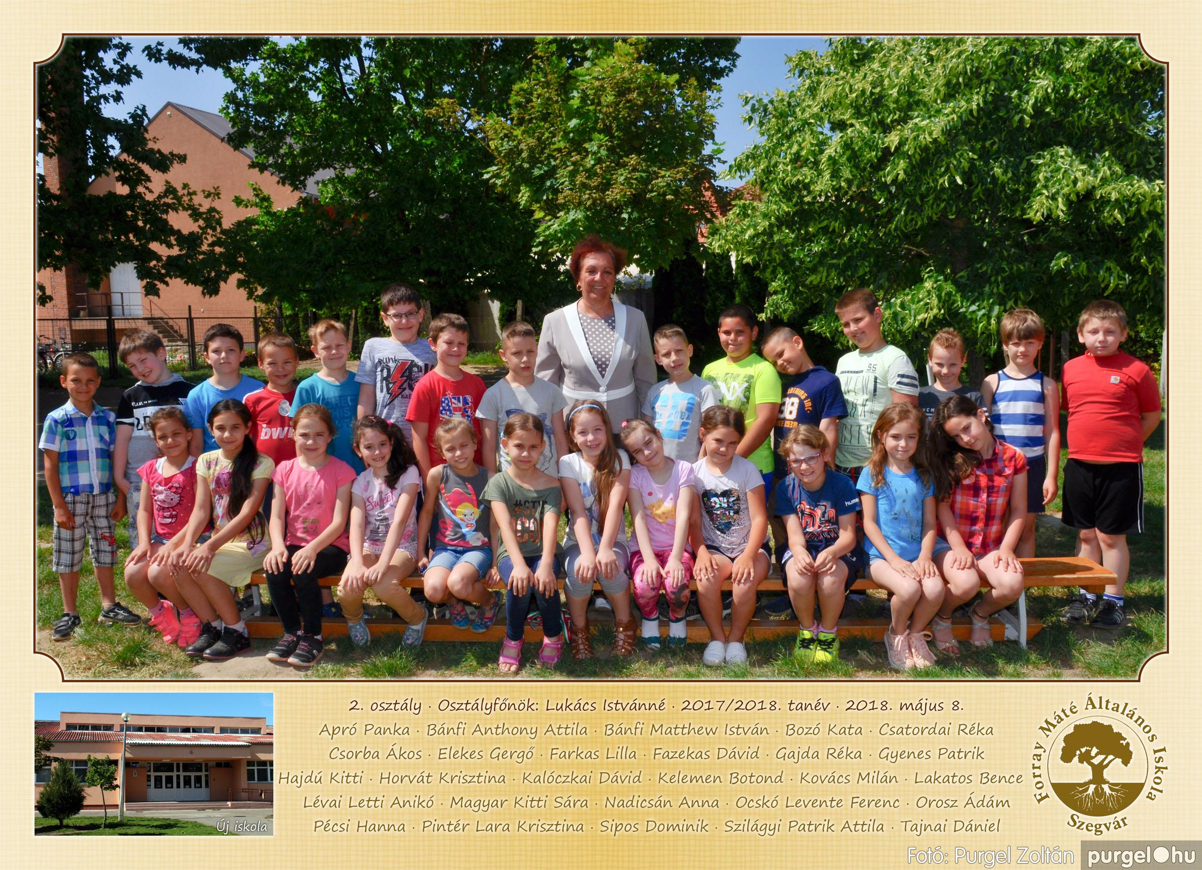 2018.05.08-10. 002 Forray Máté Általános Iskola osztályképek 2018. - Fotó:PURGEL ZOLTÁN© 2. osztály.jpg