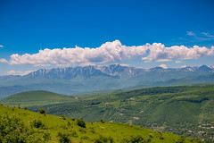 Zangezur Mountains surrounding Goris, Armenia