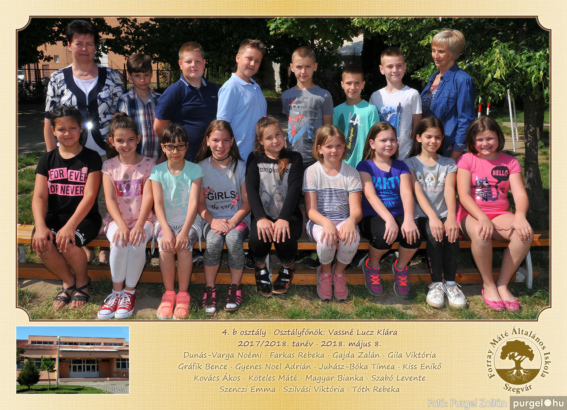 2018.05.08-10. 005 Forray Máté Általános Iskola osztályképek 2018. - Fotó:PURGEL ZOLTÁN© 4.b osztály.jpg
