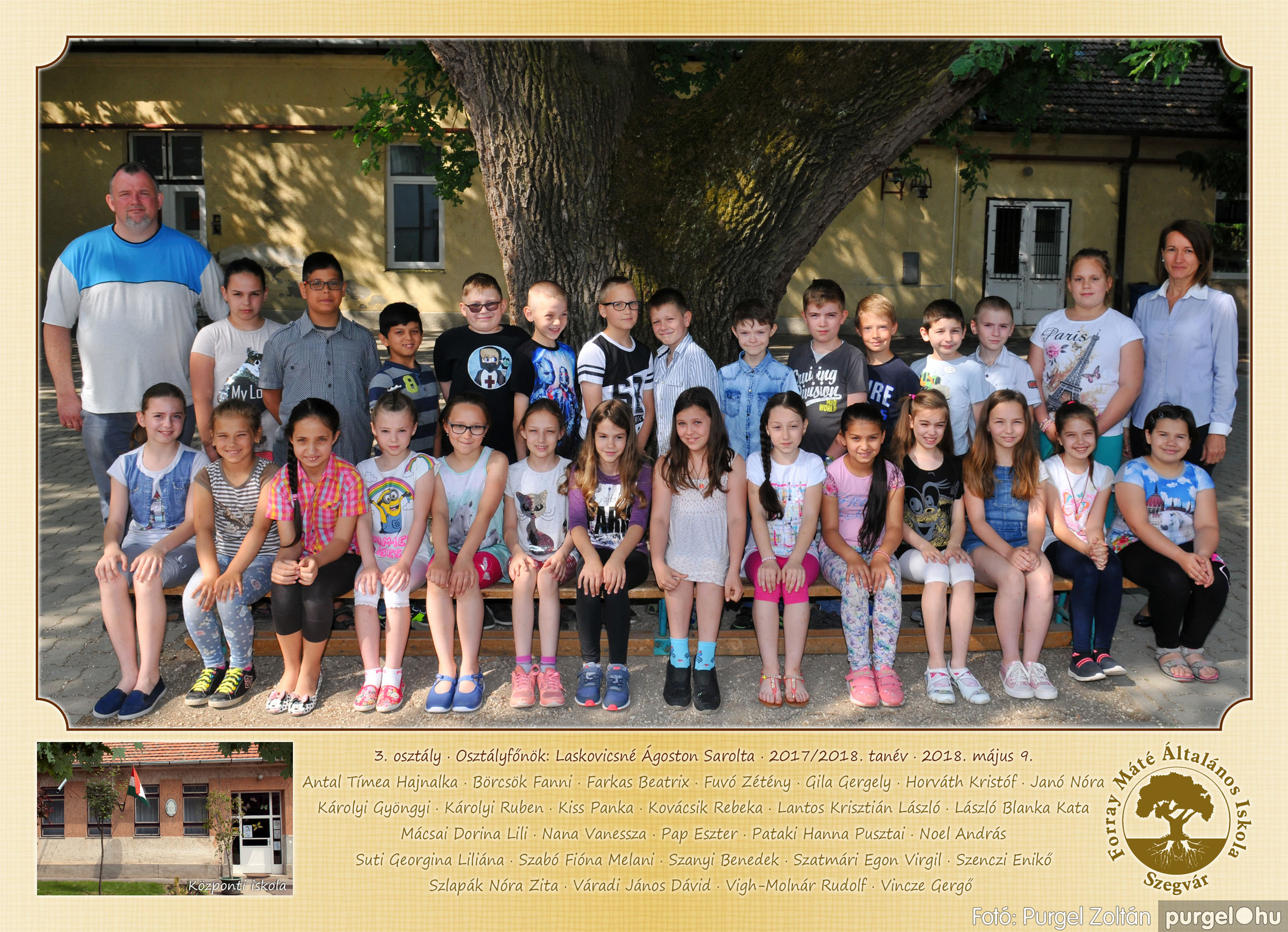 2018.05.08-10. 003 Forray Máté Általános Iskola osztályképek 2018. - Fotó:PURGEL ZOLTÁN© 3. osztály.jpg