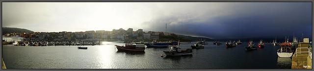 Panorama von Fisterra