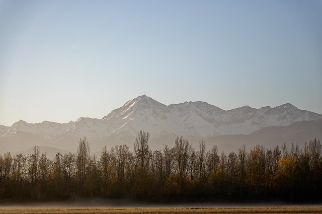 Pyrenees from Tarbes