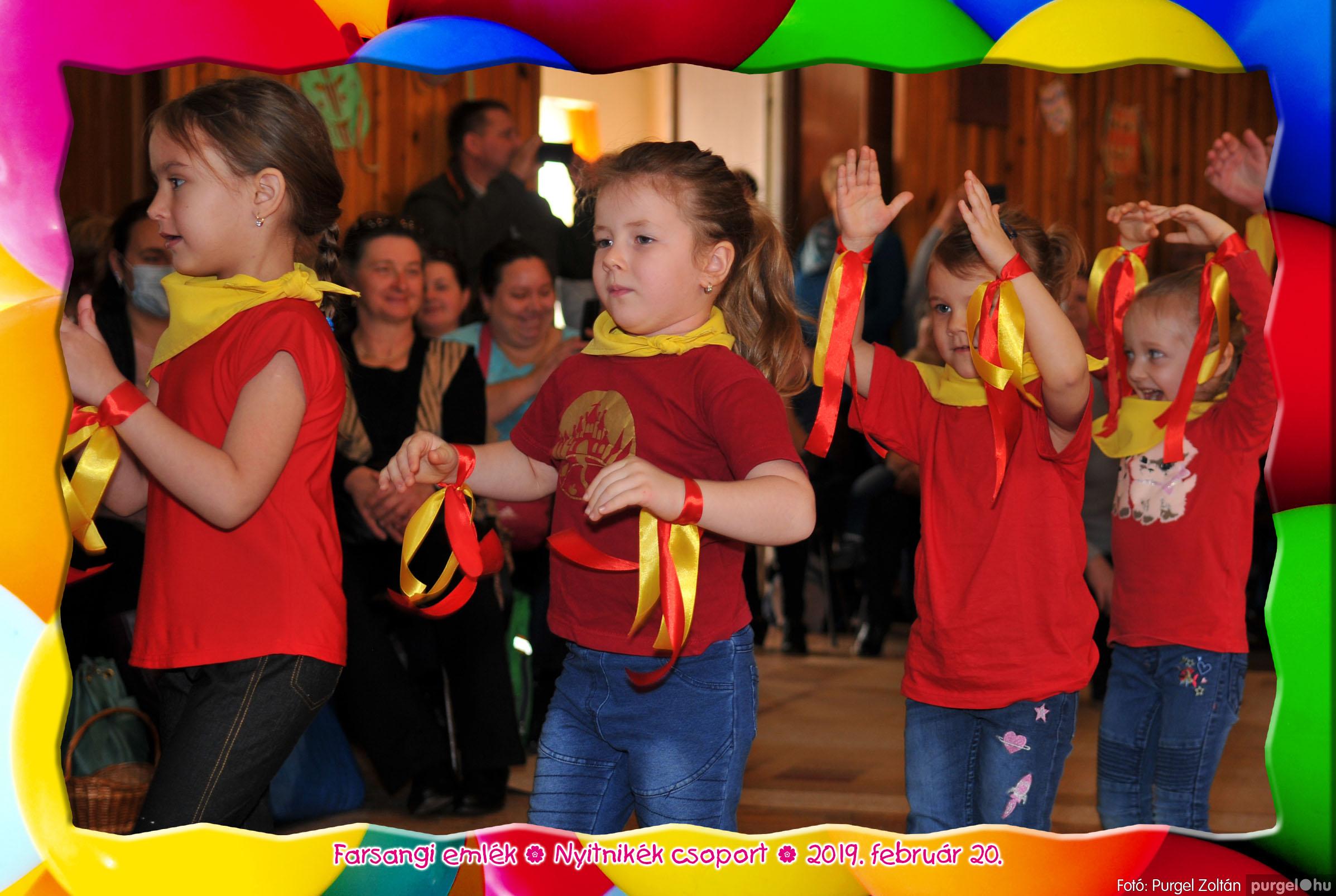 2019.02.20. 100 Kurca-parti Óvoda farsang 2019. - Nyitnikék csoport - Fotó:PURGEL ZOLTÁN© 504.jpg