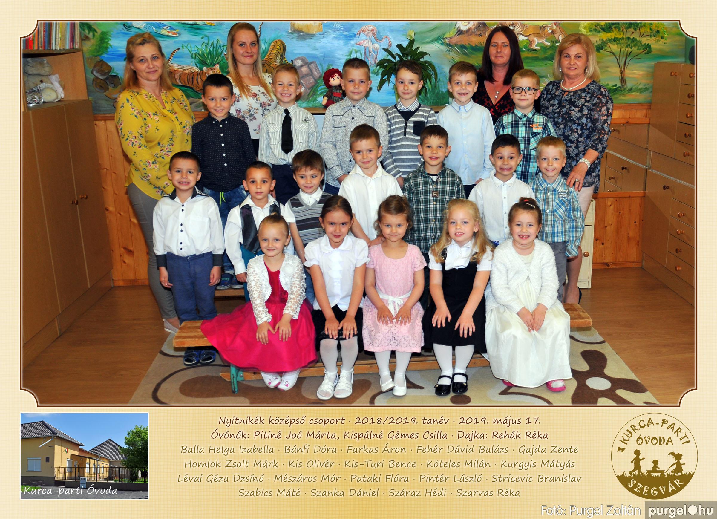 2019.05.10-25. 105 Kurca-parti Óvoda csoportképek 2019. - Fotó:PURGEL ZOLTÁN© Nyitnikék.jpg
