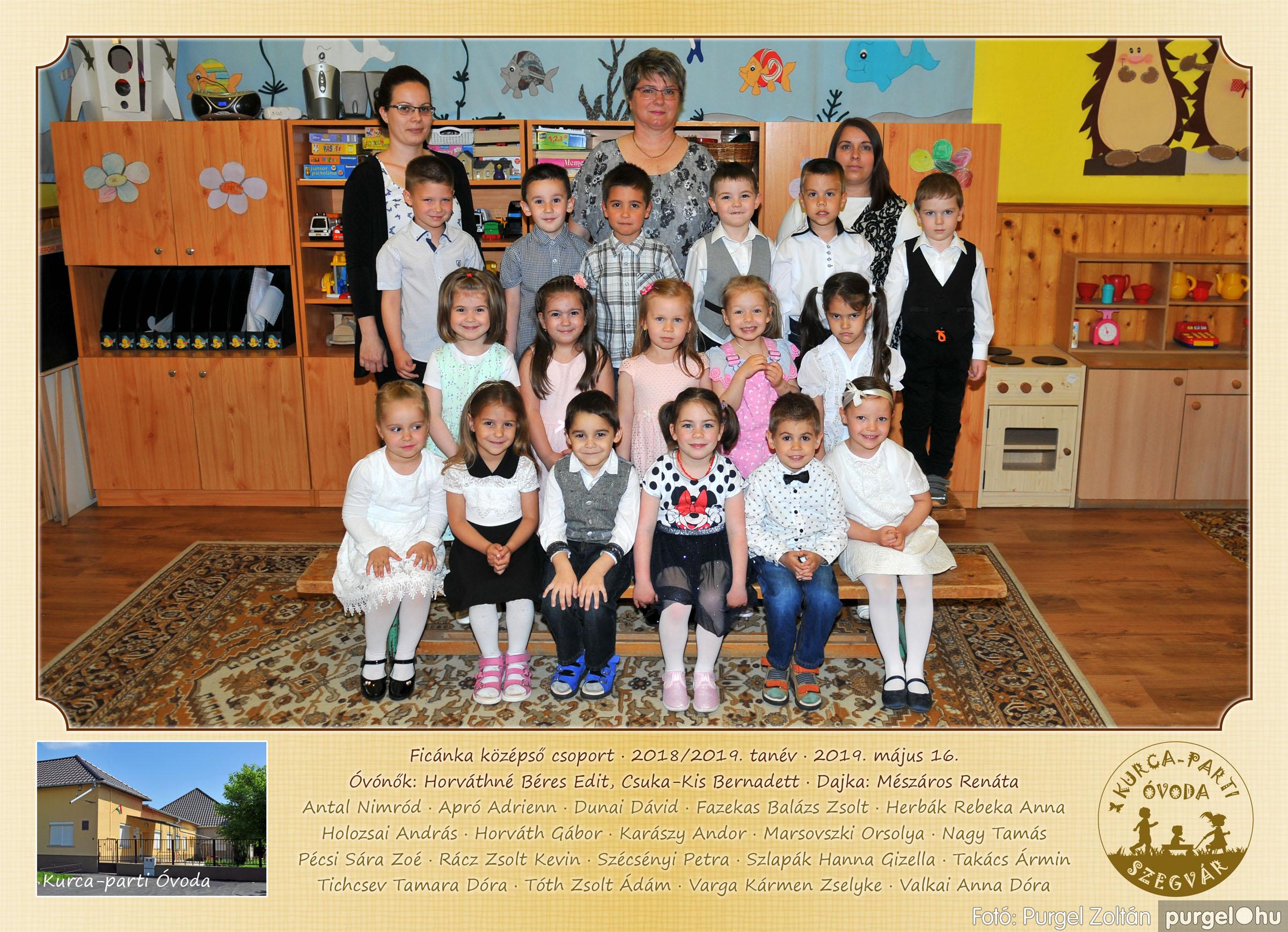2019.05.10-25. 101 Kurca-parti Óvoda csoportképek 2019. - Fotó:PURGEL ZOLTÁN© Ficánka.jpg