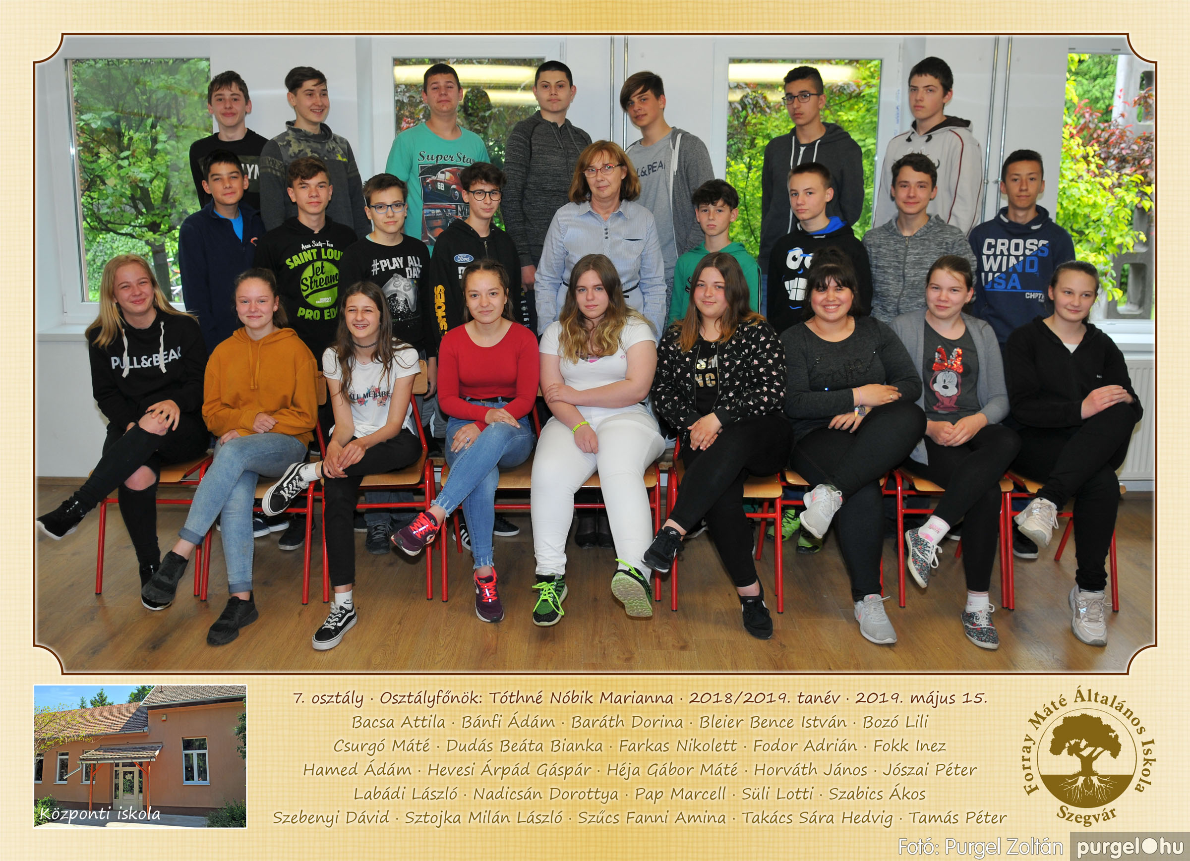 2019.05.14-29. 009 Forray Máté Általános Iskola osztályképek 2019. - Fotó:PURGEL ZOLTÁN© 7.jpg