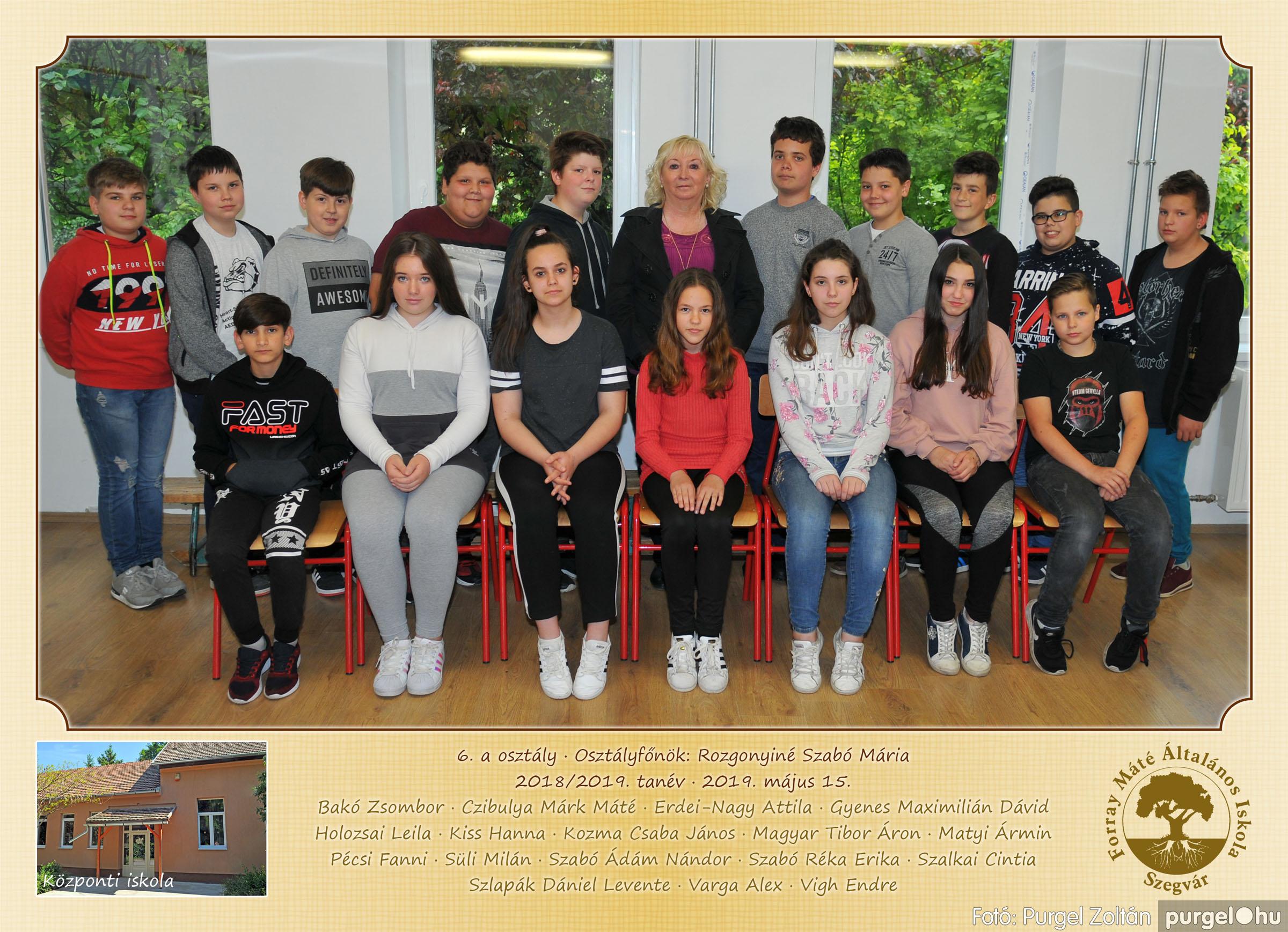 2019.05.14-29. 007 Forray Máté Általános Iskola osztályképek 2019. - Fotó:PURGEL ZOLTÁN© 6a.jpg