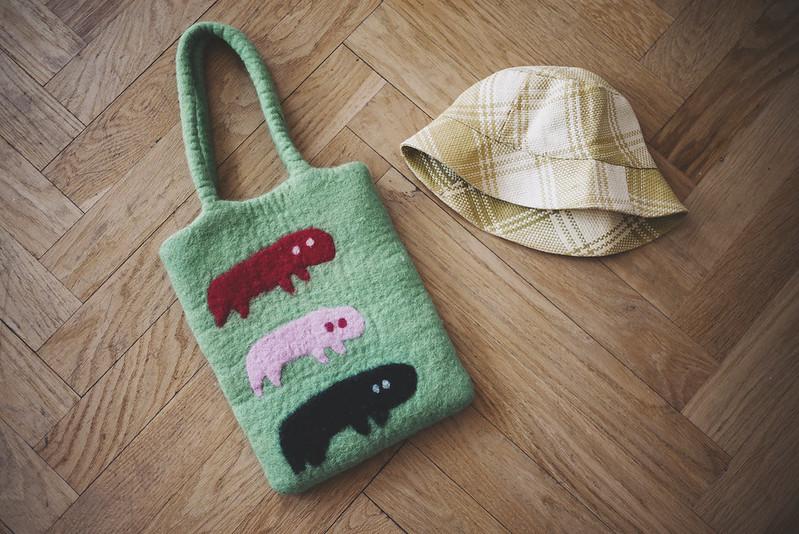 väska + hatt