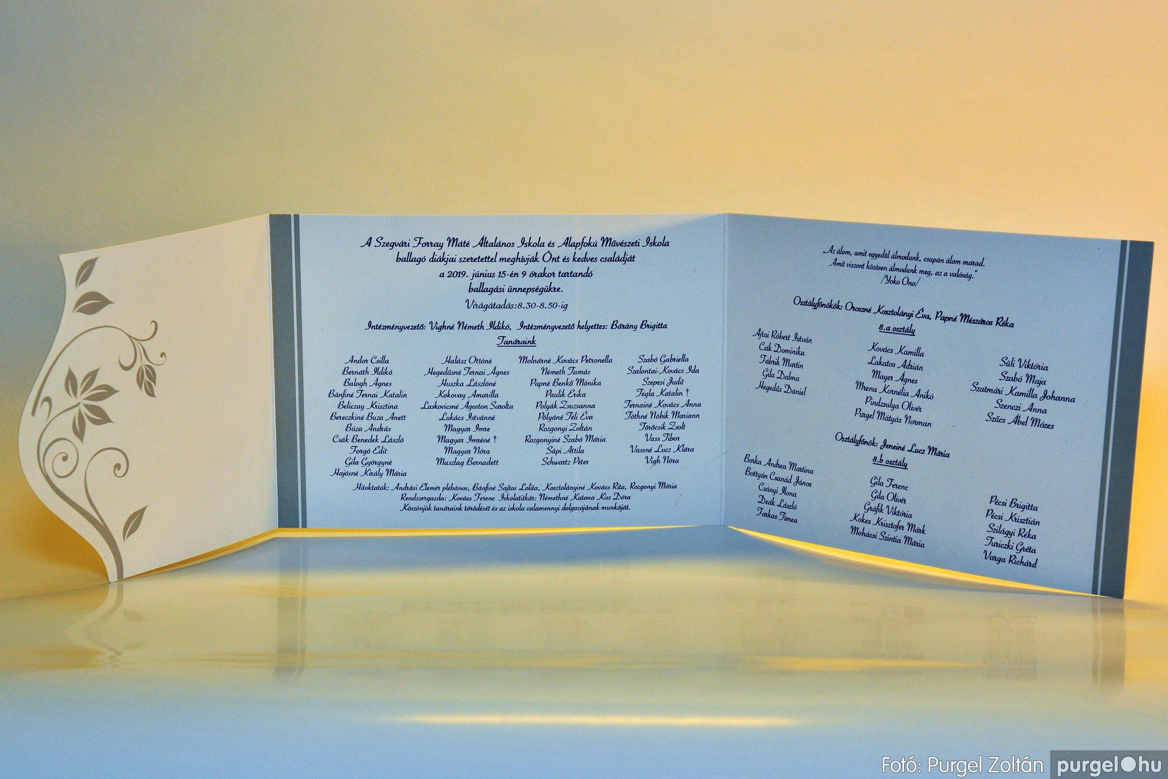2019.06.15. 000 Forray Máté Általános Iskola ballagási meghívó 2019. - Fotó:PURGEL ZOLTÁN© D3K_7390q.jpg