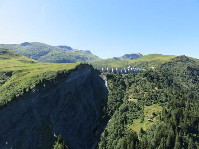 Barrage et dôme de la Girotte