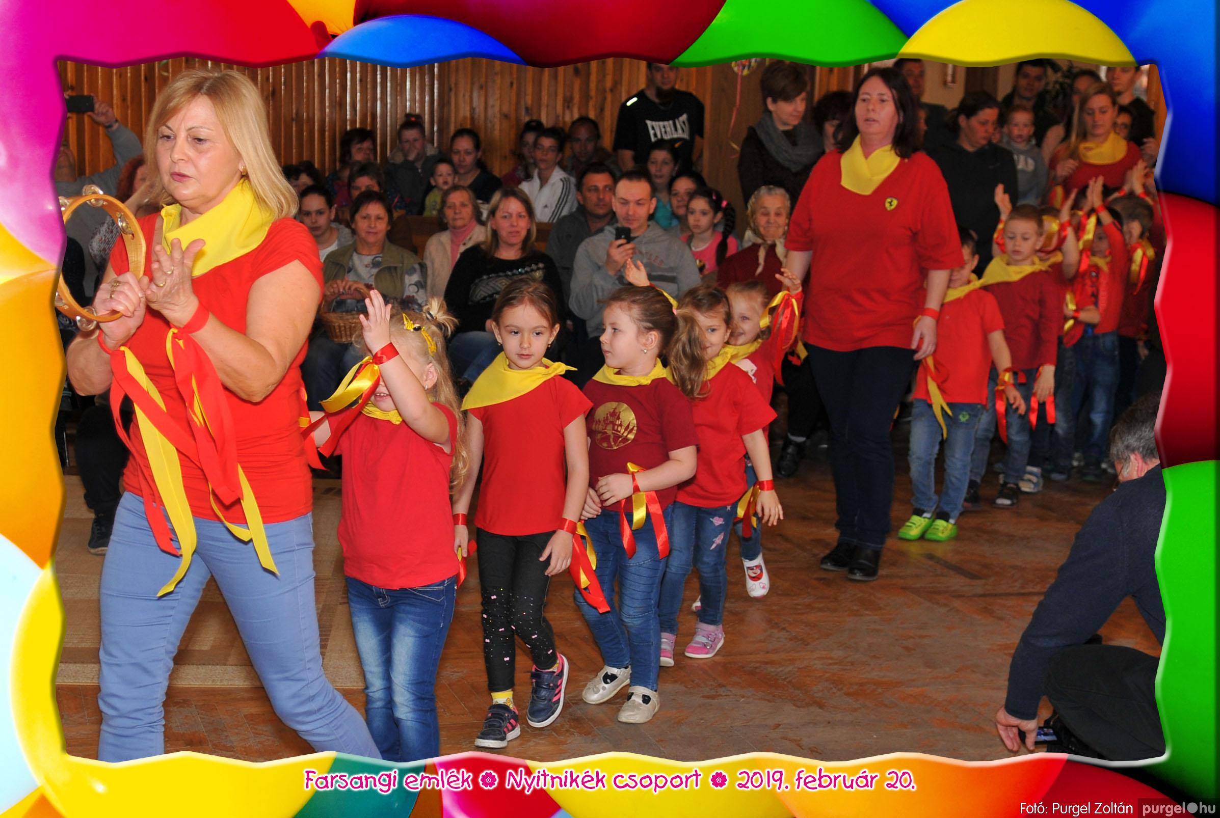 2019.02.20. 098 Kurca-parti Óvoda farsang 2019. - Nyitnikék csoport - Fotó:PURGEL ZOLTÁN© 502.jpg