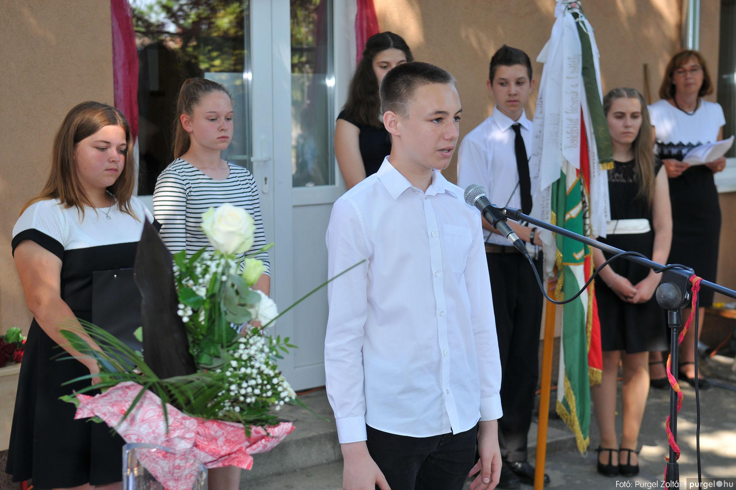 2019.06.15. 152 Forray Máté Általános Iskola ballagás 2019. - Fotó:PURGEL ZOLTÁN© D3K_7056q.jpg