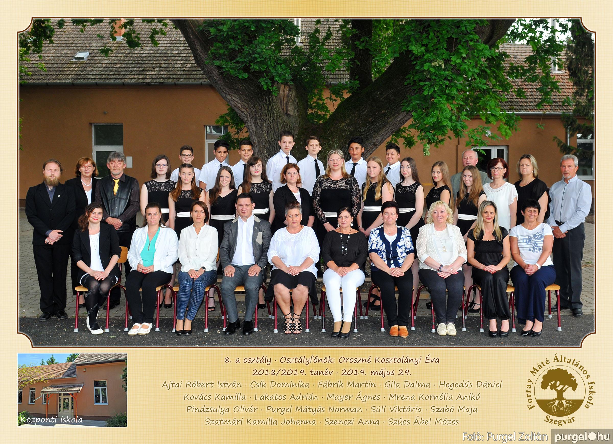2019.05.14-29. 010 Forray Máté Általános Iskola osztályképek 2019. - Fotó:PURGEL ZOLTÁN© 8a.jpg