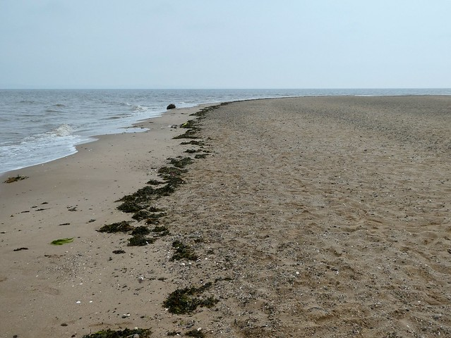 Talacre beach #pebblebeach #seaside #seascape #greysky #talacre #wales