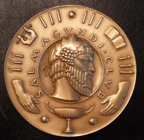 Salmagundi Club medal by Ulysses Ricci