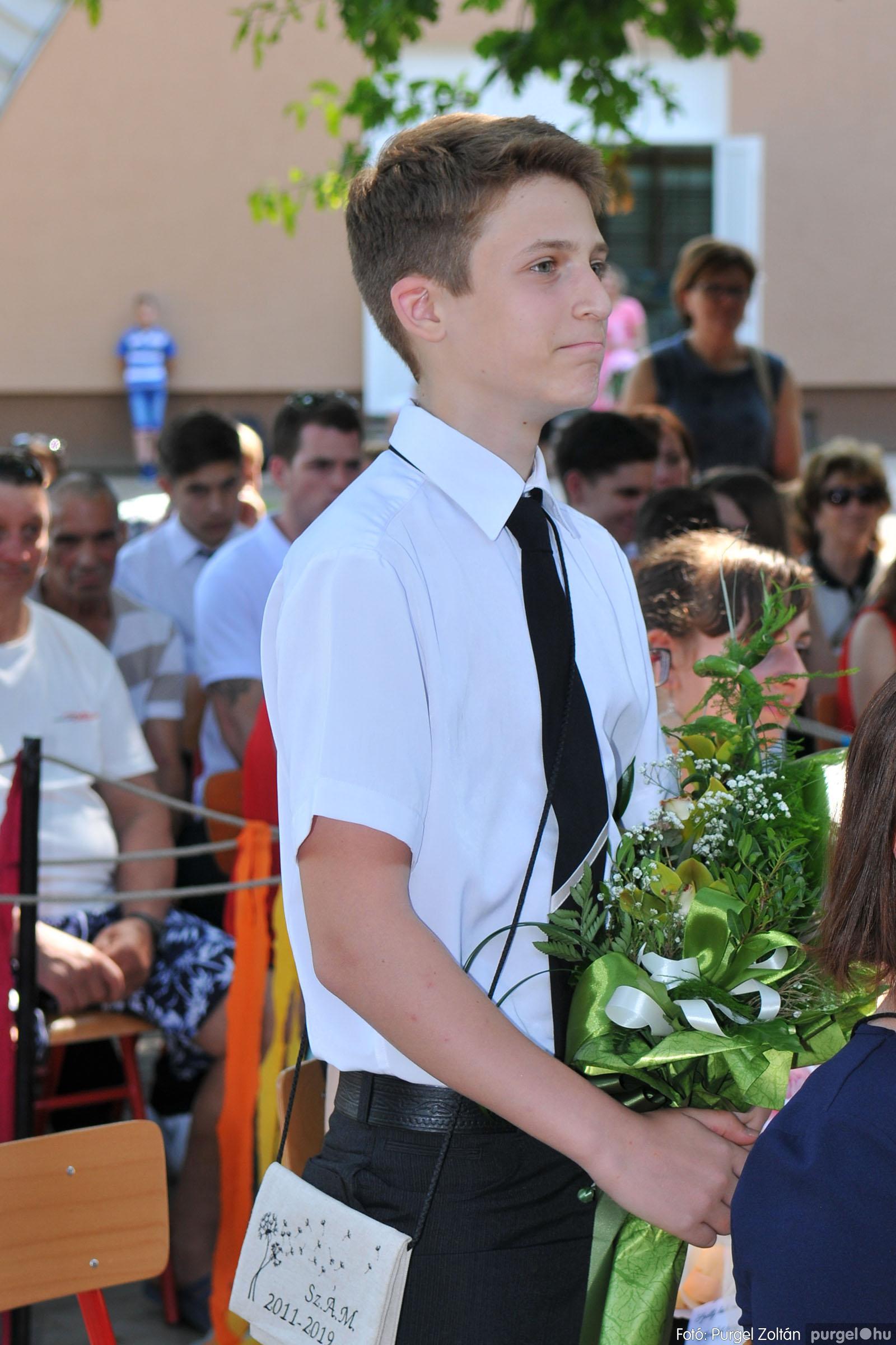 2019.06.15. 187 Forray Máté Általános Iskola ballagás 2019. - Fotó:PURGEL ZOLTÁN© D3K_7112q.jpg