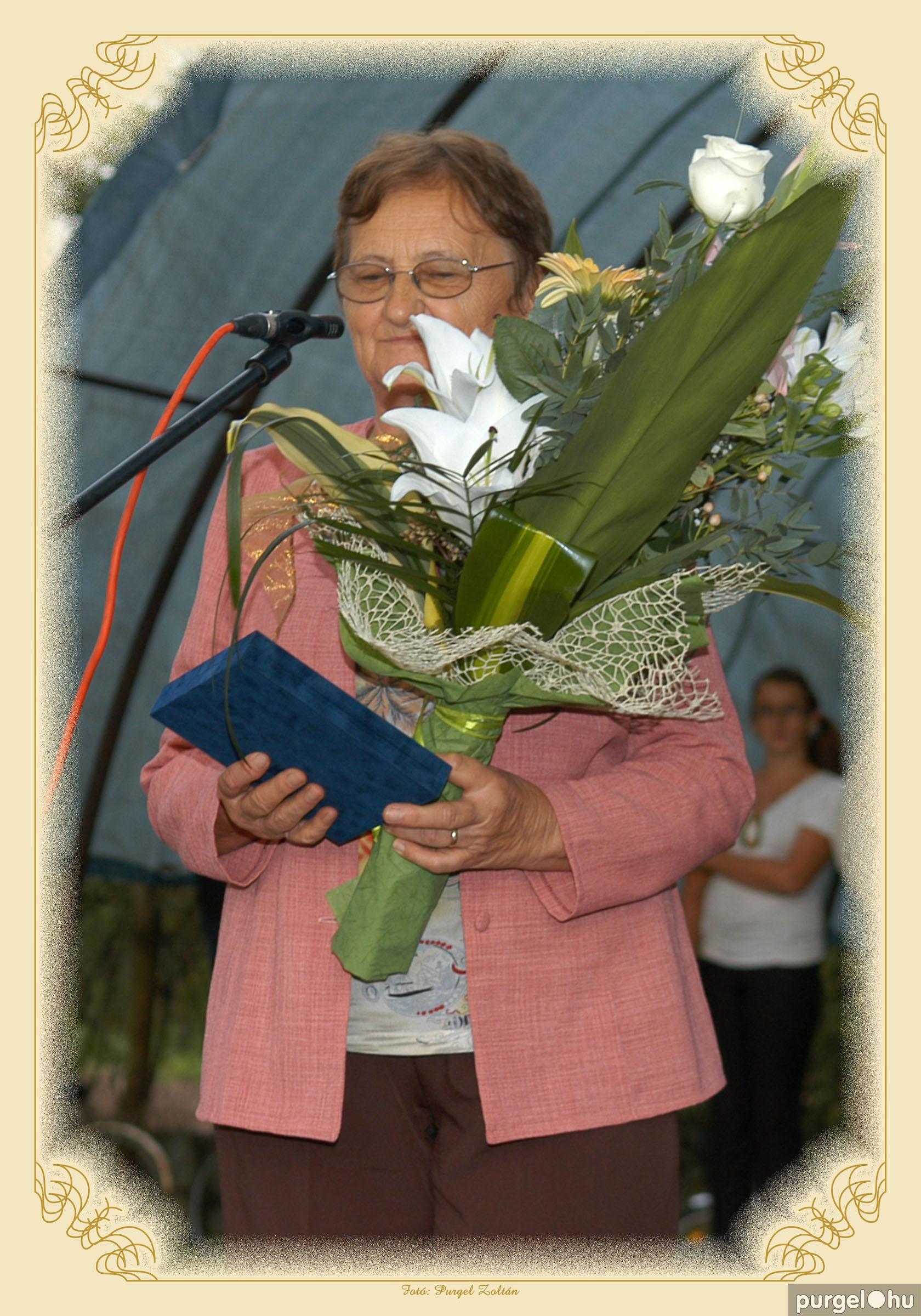 2014. Arany Lajosné - Szegvárért Emlékérem 2014. - Fotó:PURGEL ZOLTÁN©.jpg