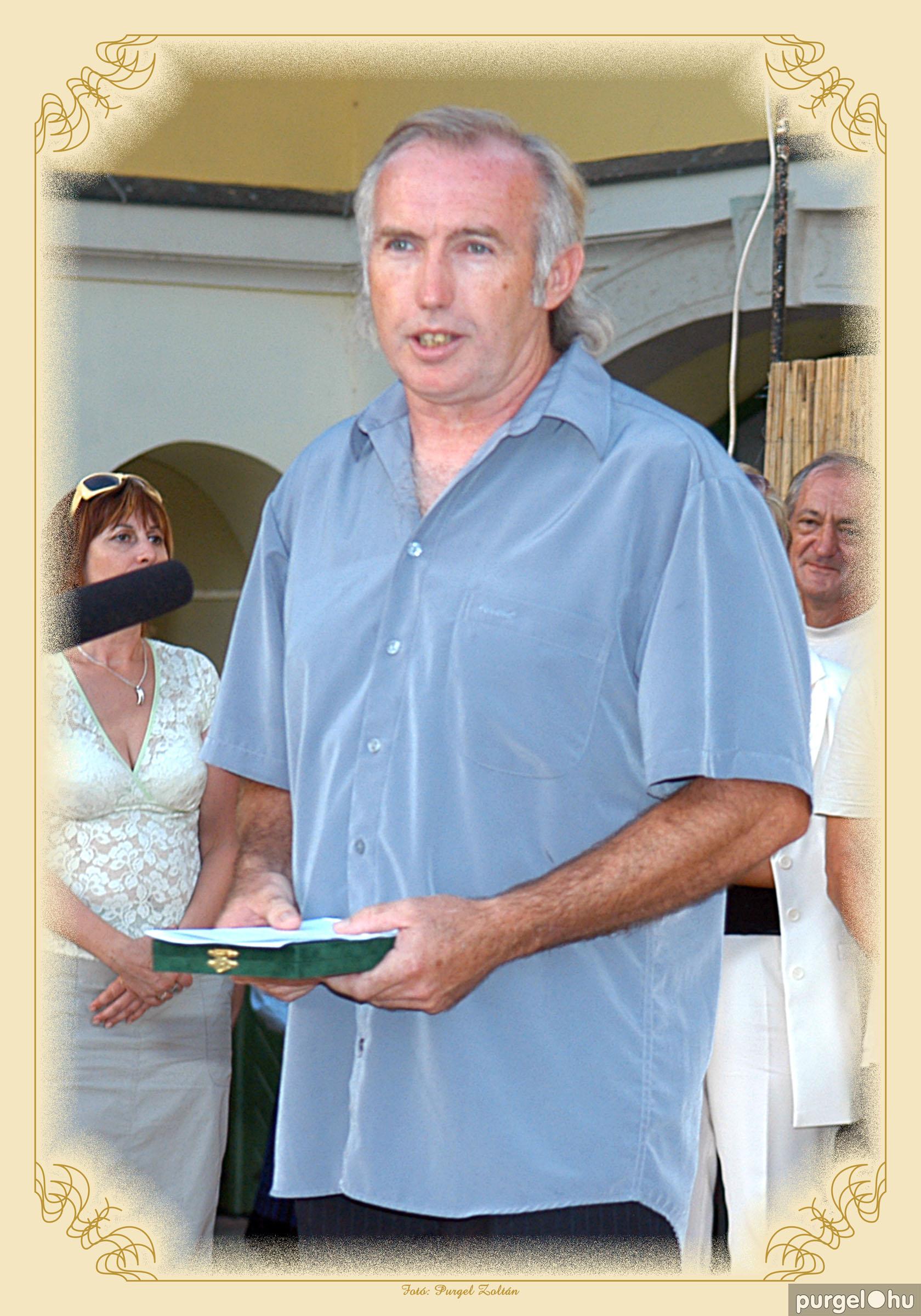 2006. Bugyi Imre - Szegvárért Emlékérem 2006. - Fotó:PURGEL ZOLTÁN©.jpg