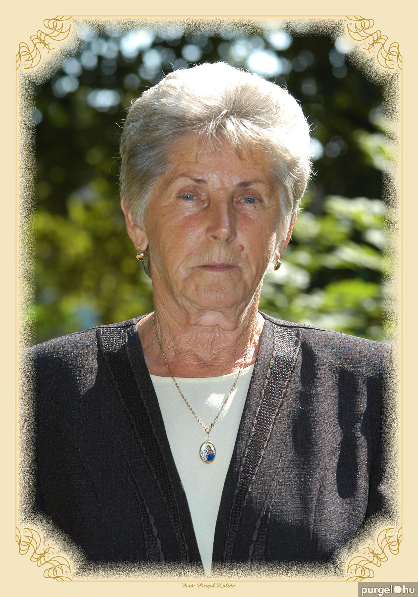 2003. Bacsa Józsefné - Szegvárért Emlékérem 2003. - Fotó:PURGEL ZOLTÁN©.jpg