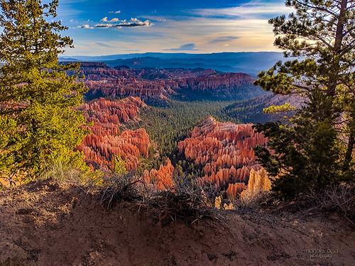 brycecanyonnationalpark utah canyon sunrise trails landscape pixel2xl phonephotography