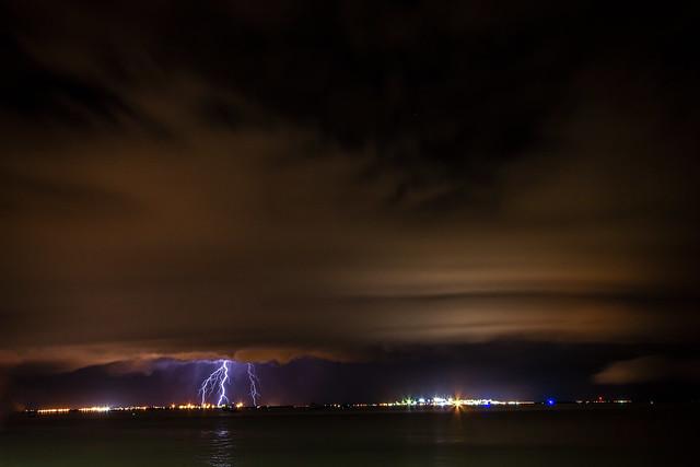 Shelfcloud & Lightning @ Night
