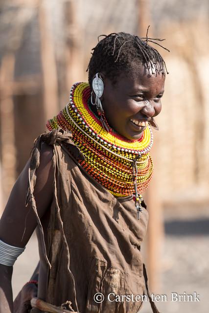 Turkana smile