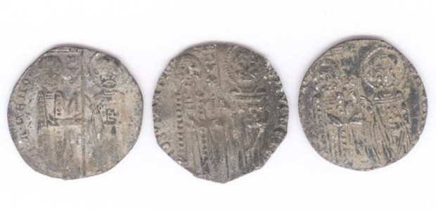 Medieval Venetian Silver Coin Find